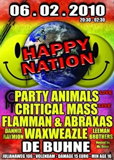 Happy Nation (flyer)
