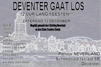 Deventer gaat los (flyer)