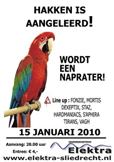 Hakken is Aangeleerd (flyer)