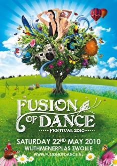 Fusion of Dance Festival (flyer)