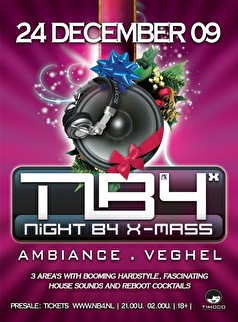 Night B4 X-Mass 2009 (flyer)