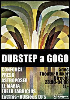 Dubstep a Gogo (flyer)