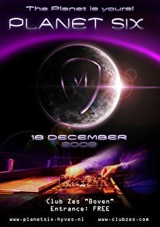 Planet Six (flyer)