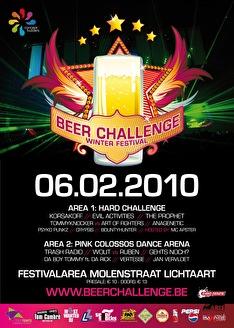 Beer challenge festival (flyer)