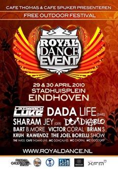 Royal Dance Event (flyer)