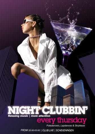 Night Clubinn' (flyer)