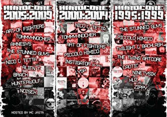 The history of hardcore (flyer)