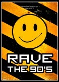 Rave the 90's (flyer)