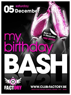 My Birthday Bash (flyer)