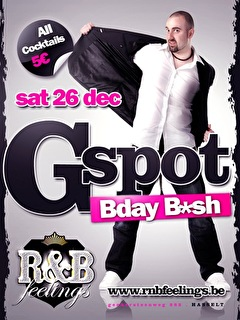 Gspot's Bday Bash (flyer)
