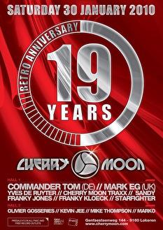 19 Years Cherrymoon (flyer)