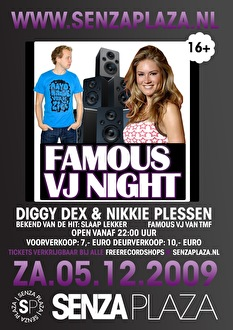 Famous Vj Night (flyer)