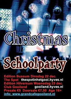 Christmas Schoolparty (flyer)
