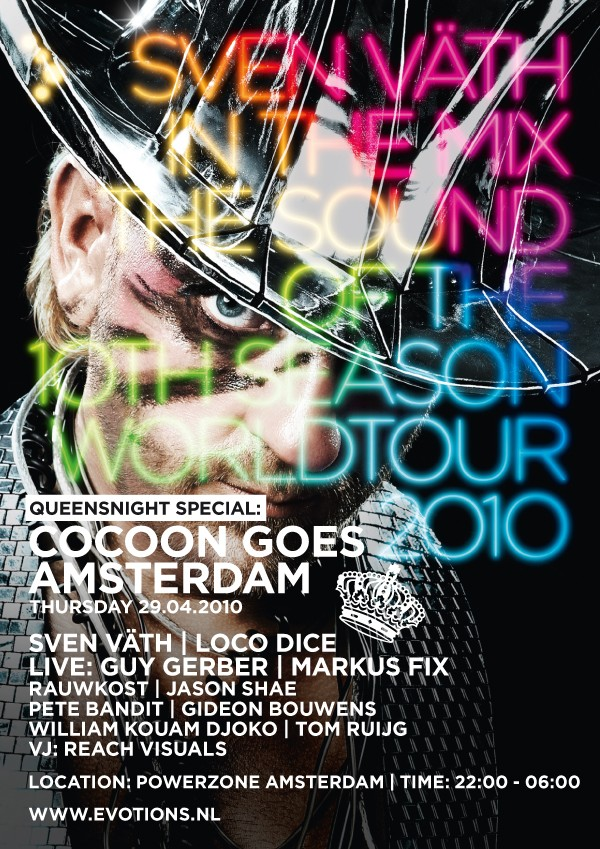 flyer Cocoon goes Amsterdam