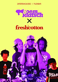 Boemklatsch & Fresh Cotton (flyer)