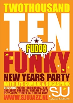 Funky Newyears Party (flyer)