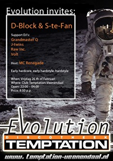 Evolution Invites (flyer)