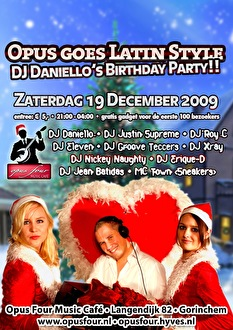 Opus Goes Latin Style (flyer)