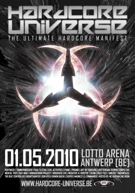Hardcore Universe (flyer)