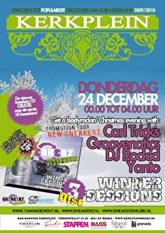 Sneakerz Winter Session (flyer)