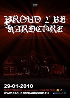 Proud 2 be hardcore (flyer)