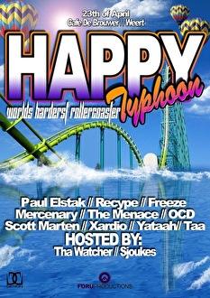 Happy Typhoon (flyer)