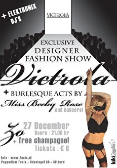 Victrola Fashionshow-afterparty (flyer)