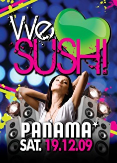 We love sushi (flyer)