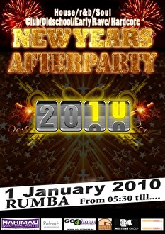 New years after party 2010 (flyer)