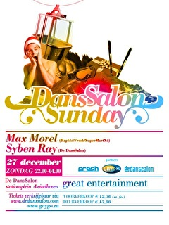 DansSalon Sunday (flyer)