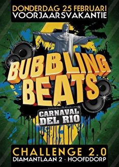Bubbling Beats (flyer)