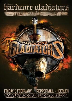 Hardcore Gladiators (flyer)