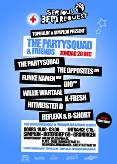 The Partysquad & Friends (flyer)