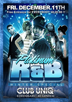 Platinum R&B (flyer)