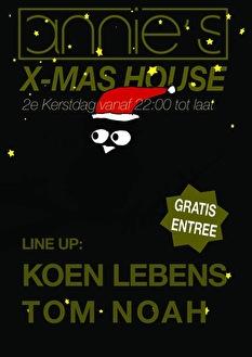 X-mas house (flyer)