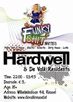 Funky Shit invites (flyer)