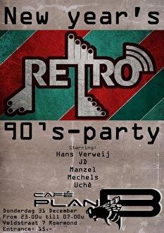 Retro New Years Eve (flyer)