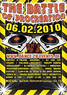 The battle of procreation (flyer)