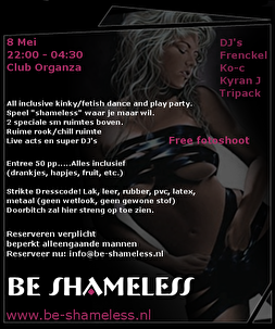Be Shameless (flyer)
