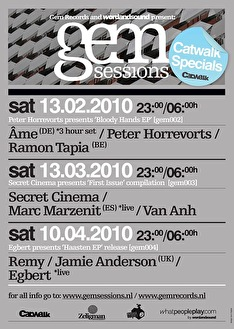 Gem Sessions (flyer)