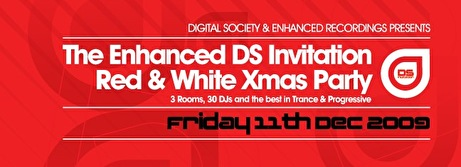 Digital Society vs Enhanced Christmas Party (flyer)