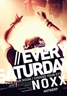 Resident Saturday (flyer)