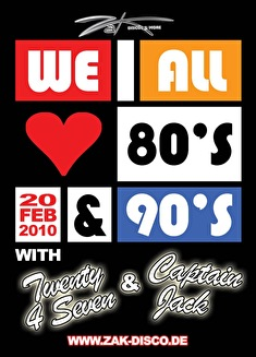 We all love the 80's & 90's (flyer)
