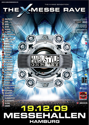 The X-Messe Rave (flyer)