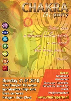 Chakra the Party (flyer)