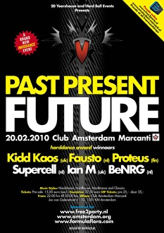 Past present future (flyer)