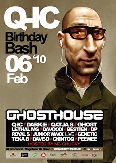 Q-ic's Birthday Bash (flyer)