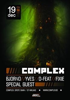 Complex Resident Night (flyer)