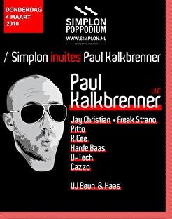 Simplon invites Paul Kalkbrenner (flyer)