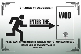 Enter The Woo (flyer)